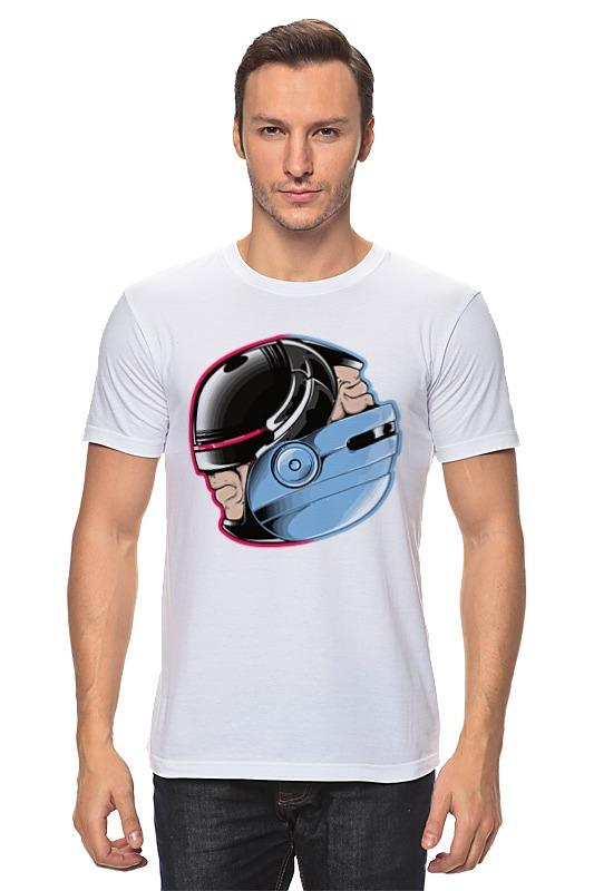 Футболка классическая Printio Робокоп (robocop) футболка классическая printio robocop 8 bit