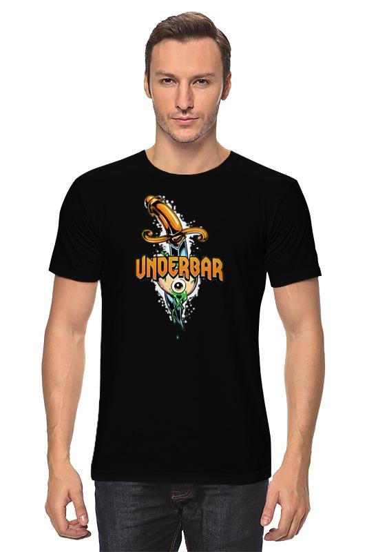 Футболка классическая Printio Under bar t-shirt футболка print bar flower shirt