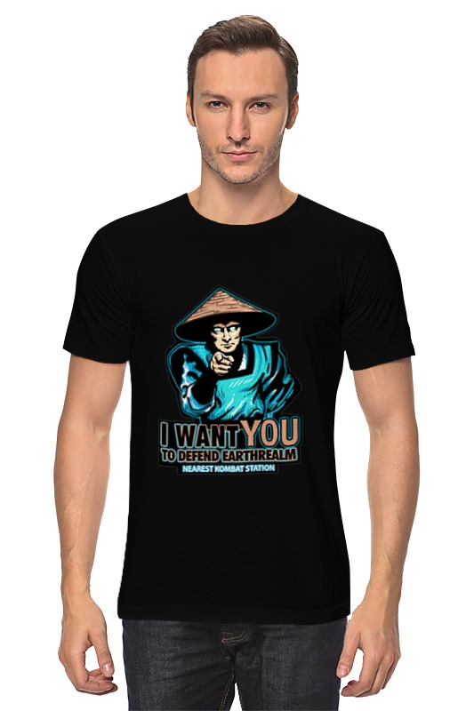 Футболка классическая Printio I want you raiden! i want you to want me