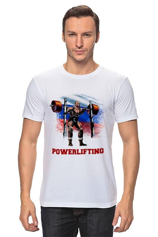 Футболка классическая Printio Russia powerlifting