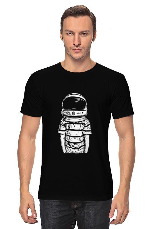 Футболка классическая Printio Космонавт футболка классическая printio портрет космонавта