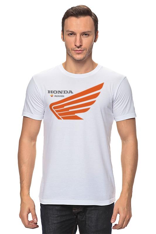 Футболка классическая Printio Honda repsol футболка honda