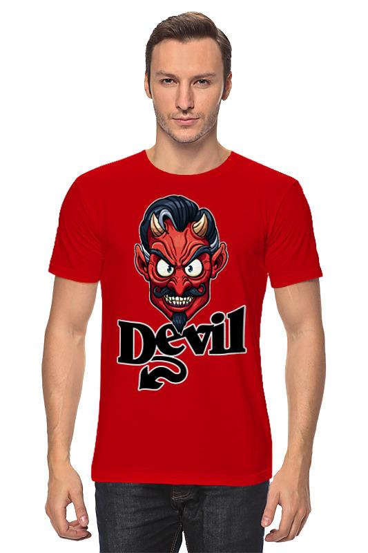 Printio Devil mask футболка классическая printio devil mask