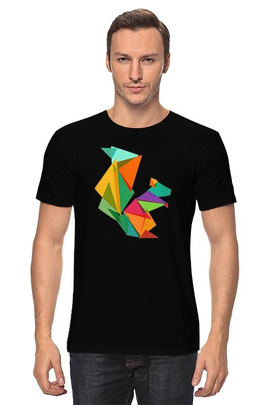 Футболка классическая Printio Геометрическая белка футболка wearcraft premium printio геометрическая белка