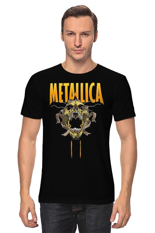 Футболка классическая Printio Metallica