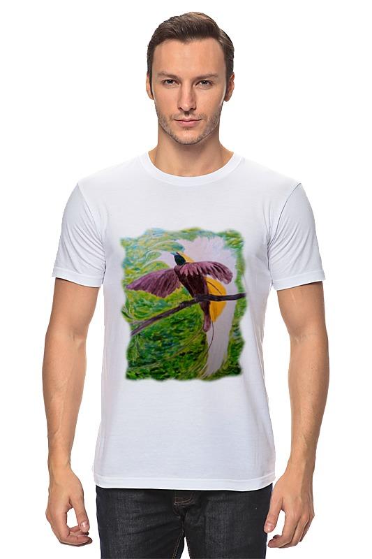 Футболка классическая Printio Малая райская птица футболка классическая printio малая райская птица