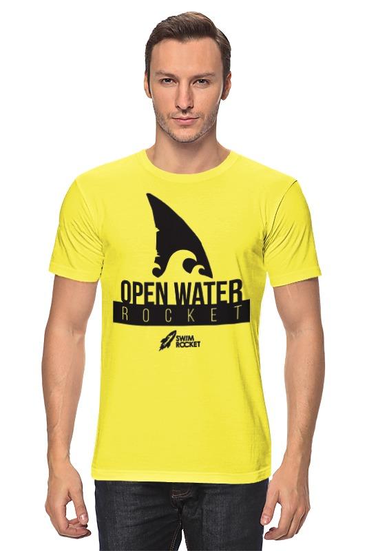 Футболка классическая Printio Open water rocket футболка классическая printio open water queen