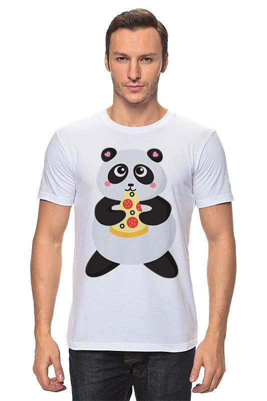Футболка классическая Printio Панда обжора свитшот print bar панда гангста