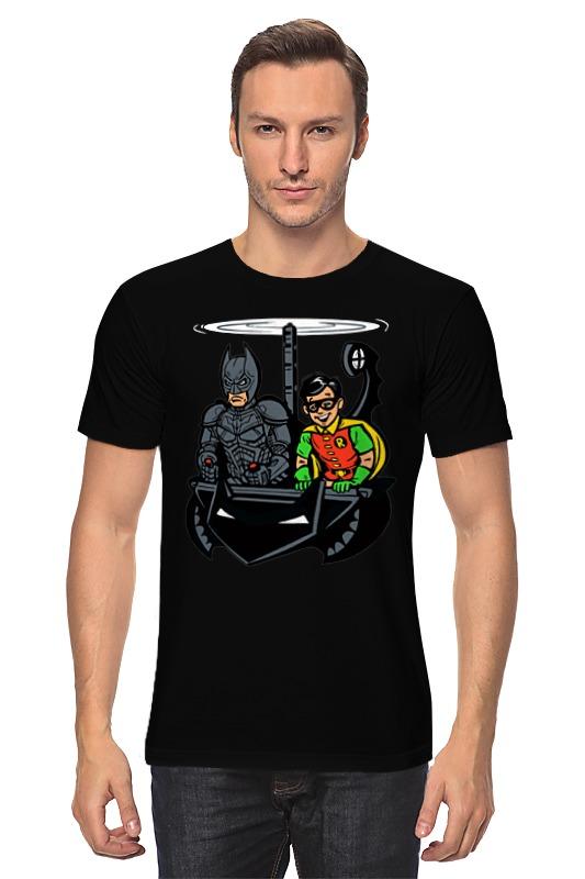 Футболка классическая Printio Бэтмен и робин детская футболка классическая унисекс printio бэтмен и робин