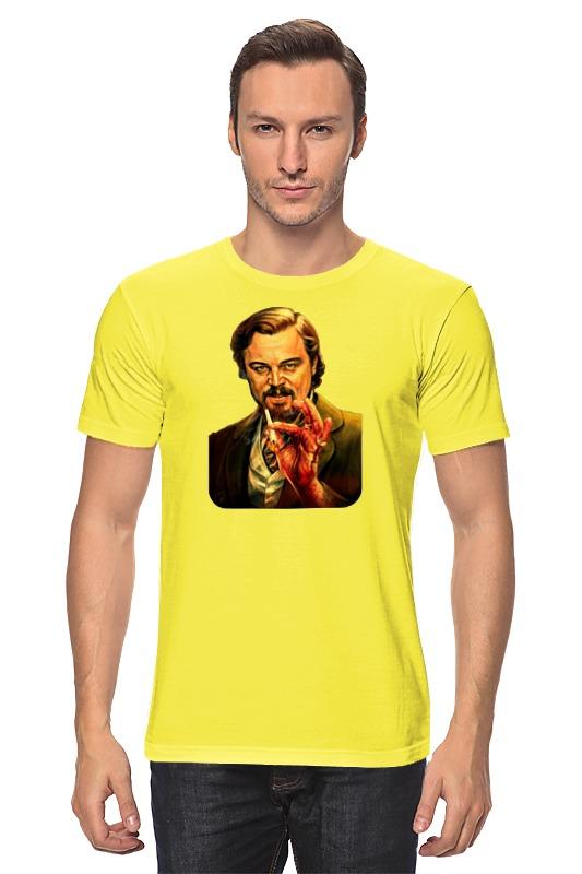 Футболка классическая Printio Леонардо дикаприо (джанго освобожденный) футболка для беременных printio леонардо дикаприо джанго освобожденный