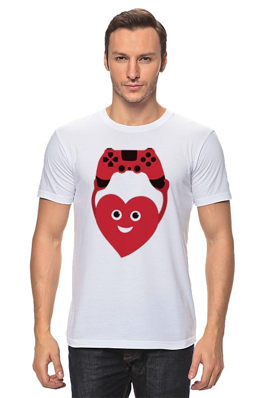 Printio Джойстик и сердце детская футболка классическая унисекс printio джойстик и сердце