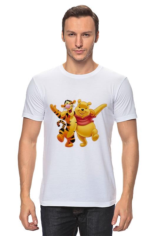 Футболка классическая Printio Винни пух и тигра футболка классическая printio винни пух
