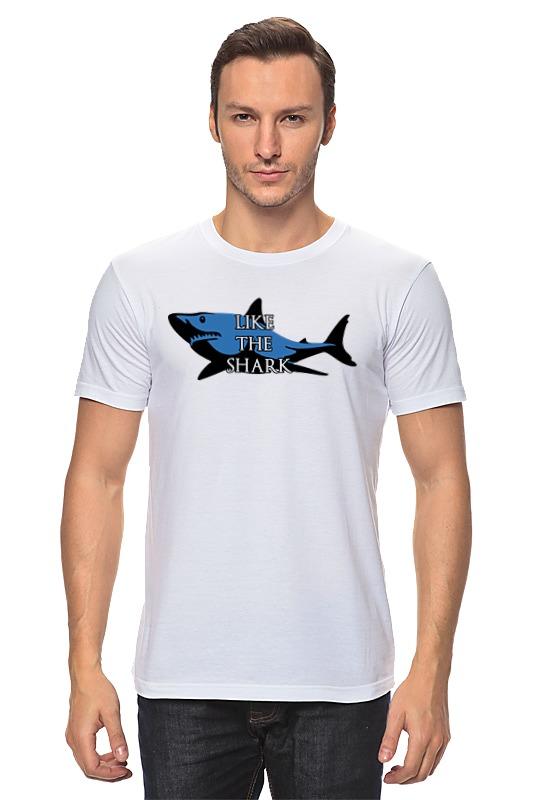 Футболка классическая Printio Like the shark футболка wearcraft premium printio like the shark