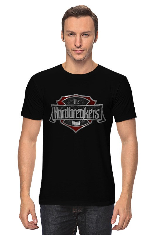 Футболка классическая Printio Hardbreakers men's black t-shirt мужская футболка hand 3d t shirt made in china 3d t 2015 4xl blusas roupas 3d t a101dx
