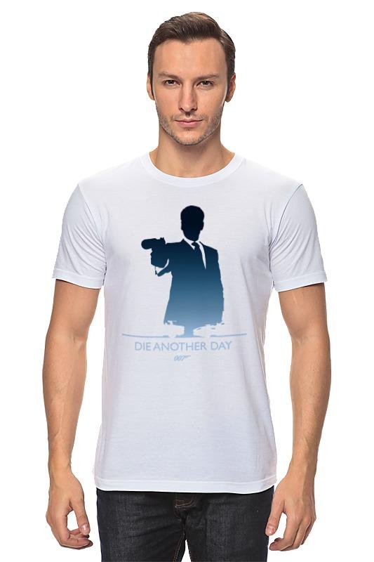 Футболка классическая Printio 007: умри, но не сейчас футболка классическая printio 007 завтра не умрет никогда