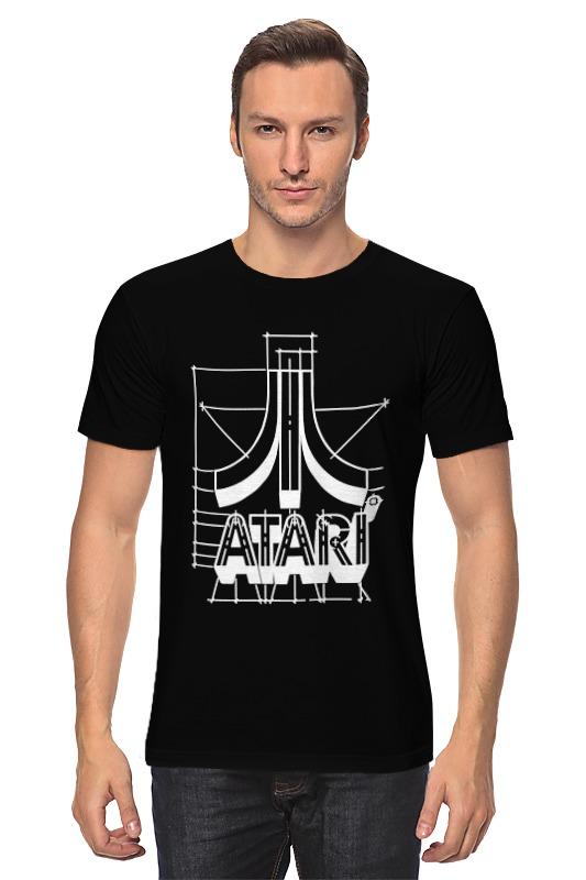 Футболка классическая Printio Логотип атари - atari logo футболка wearcraft premium printio логотип атари atari logo
