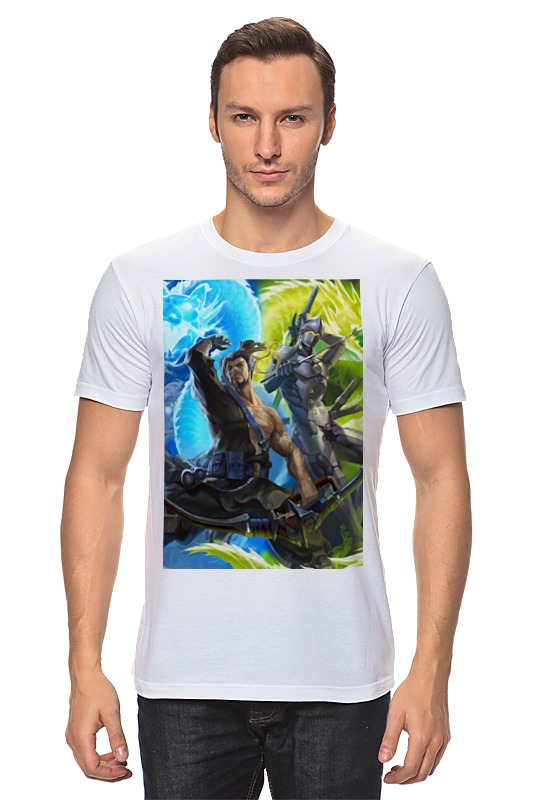 Футболка классическая Printio Overwatch футболка классическая printio overwatch ангел