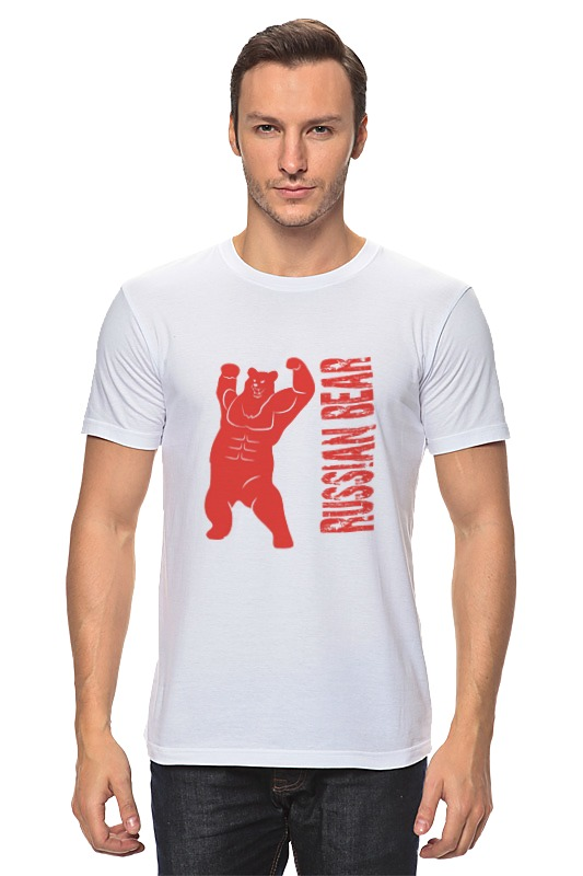 Футболка классическая Printio Russian bear