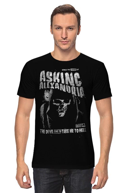 Футболка классическая Printio Asking alexandria футболка классическая printio asking alexandria