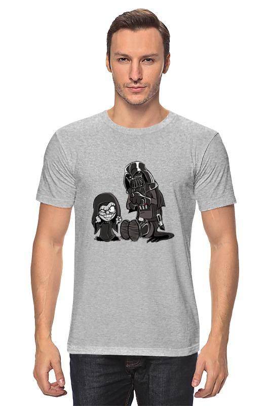 Футболка классическая Printio Дарт вейдер и палпатин футболка классическая printio палпатин