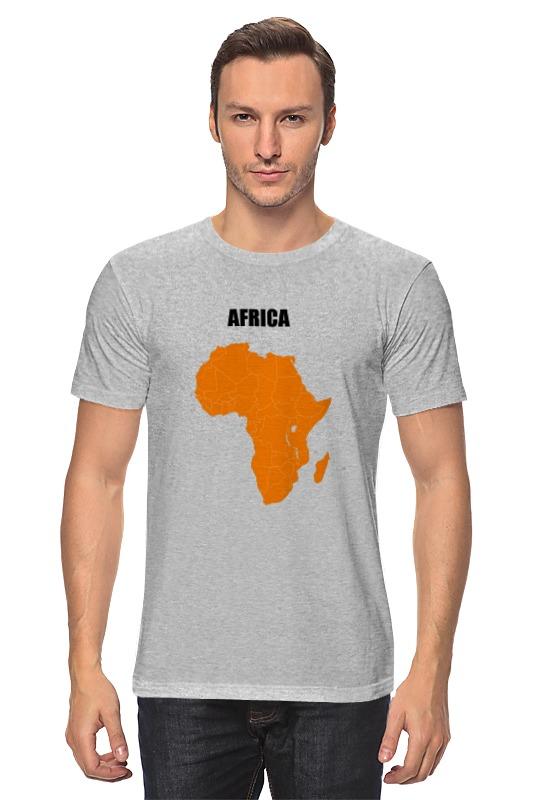Футболка классическая Printio Африка 5 цена 2017