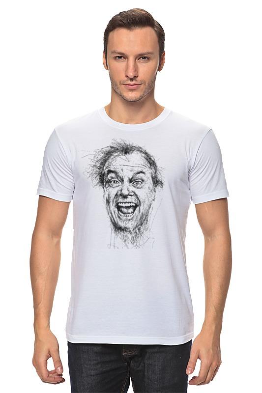 Футболка классическая Printio Джек николсон футболка wearcraft premium printio джек николсон