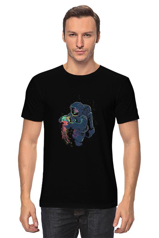 Футболка классическая Printio Космическая медуза свитшот print bar космонавт и медуза