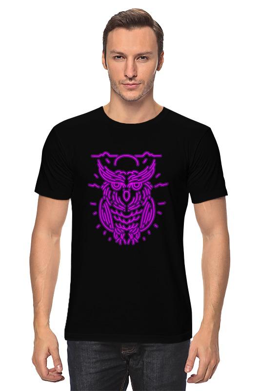 Футболка классическая Printio Сова. футболка классическая printio огненная сова