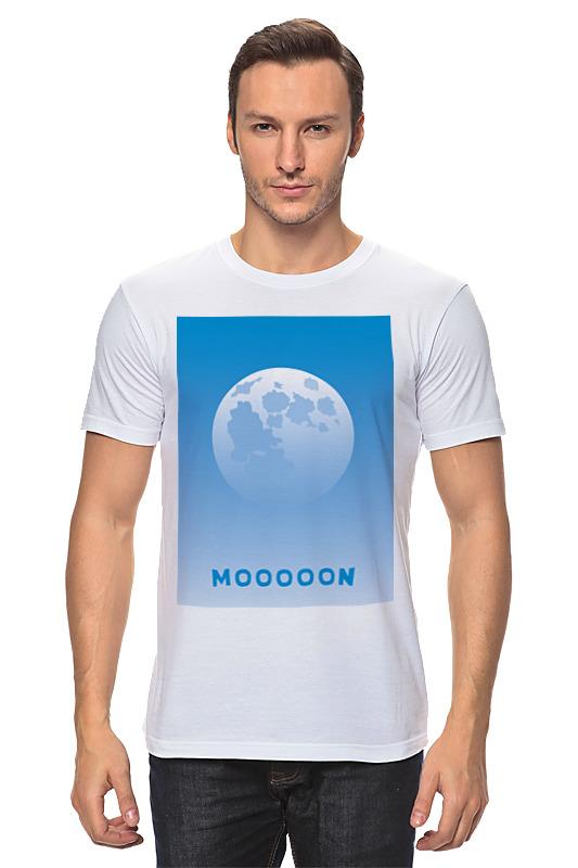 Printio Луна днем футболка луна