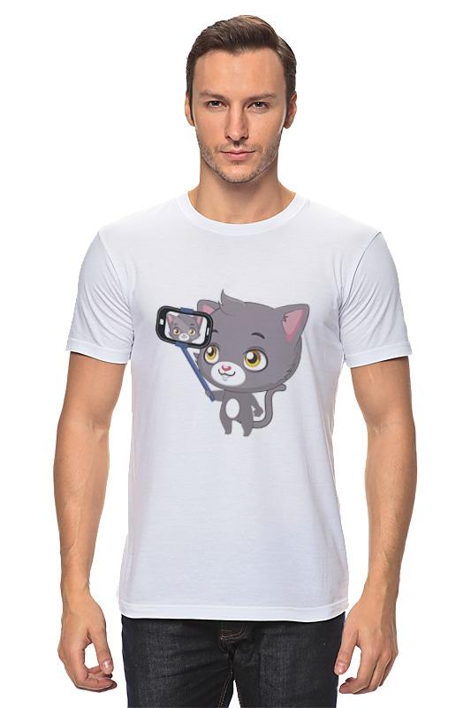 Футболка классическая Printio Селфи.котёнок футболка мужская senleis sls t1616 2015 1616