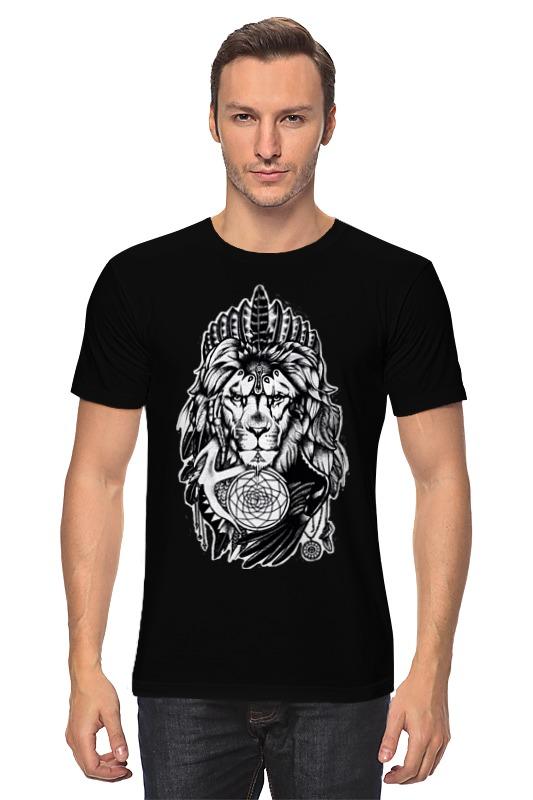 Printio The lion футболка классическая printio the lion