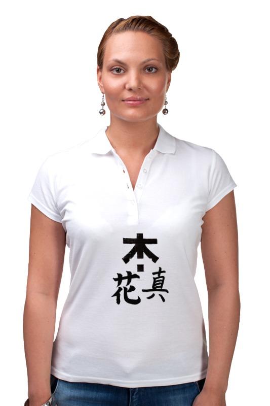 Рубашка Поло Printio Япония. минимализм