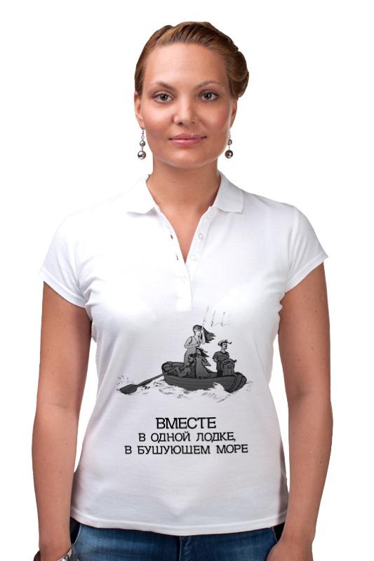 Рубашка Поло Printio Семейная лодка! платье без рукавов printio семейная лодка