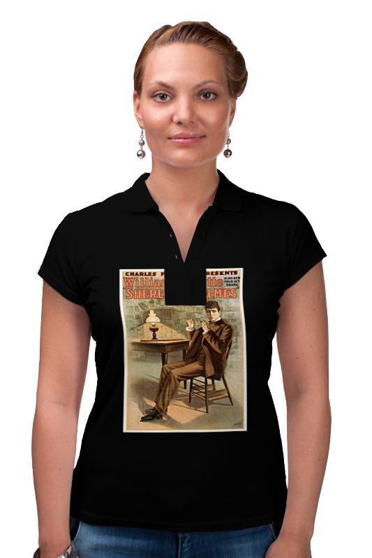 Рубашка Поло Printio Афиша спектакля шерлок холмс, 1900 г. ник картер американский шерлок холмс