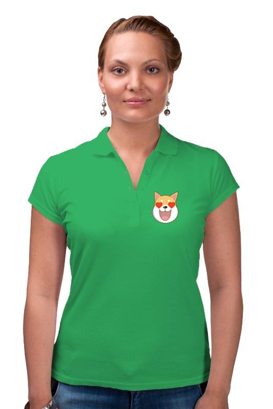 Рубашка Поло Printio Собака tosjc зелёный цвет 12