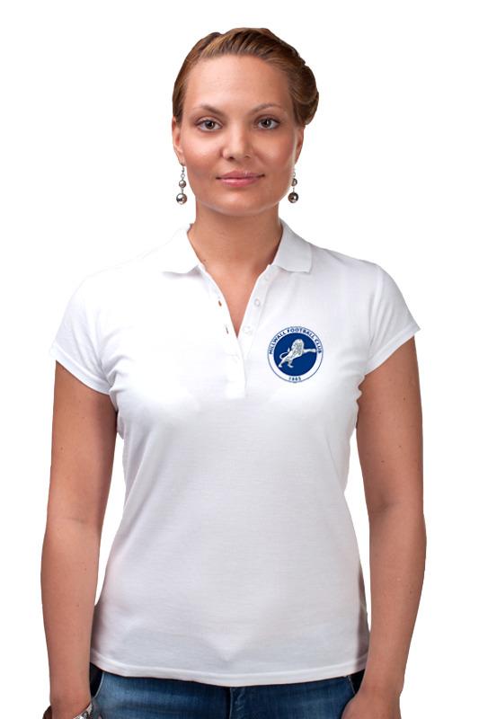 Printio Millwall fc logo women polo