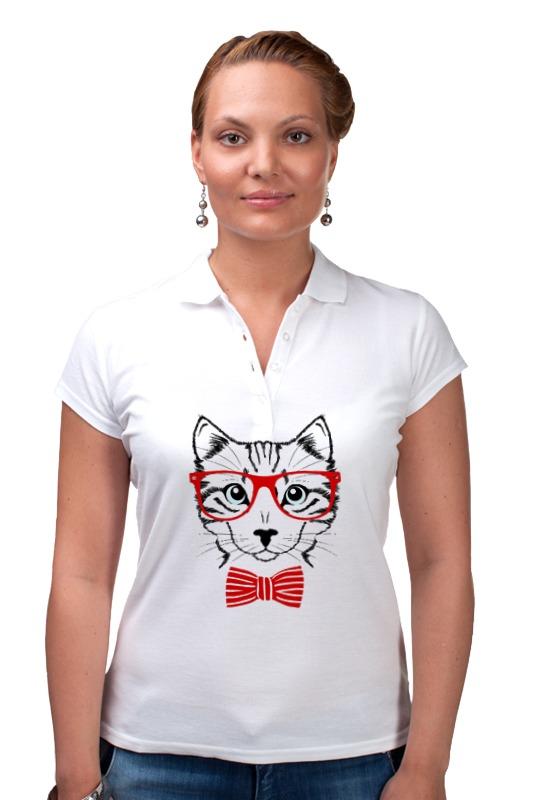 Рубашка Поло Printio Кошка андрей дашков домашнее животное