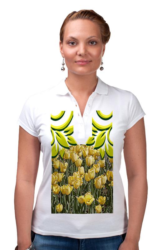 Рубашка Поло Printio Солнечный тюльпан.