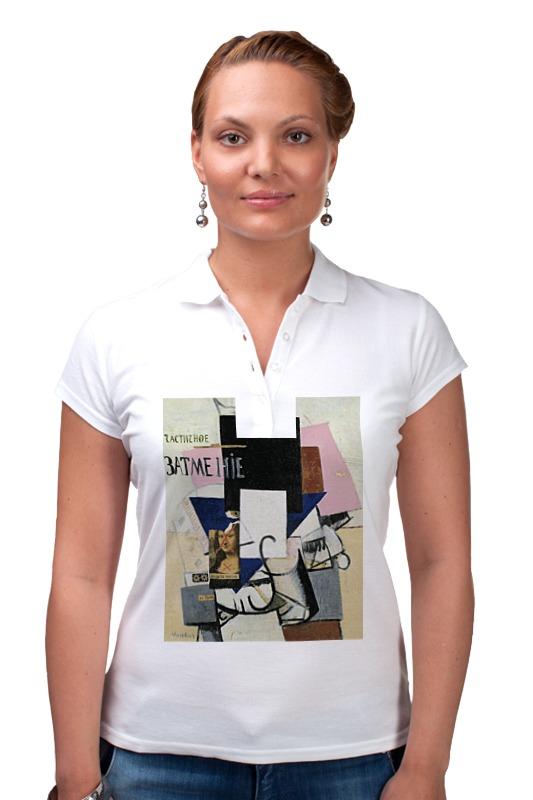 Рубашка Поло Printio Композиция с джокондой (казимир малевич)