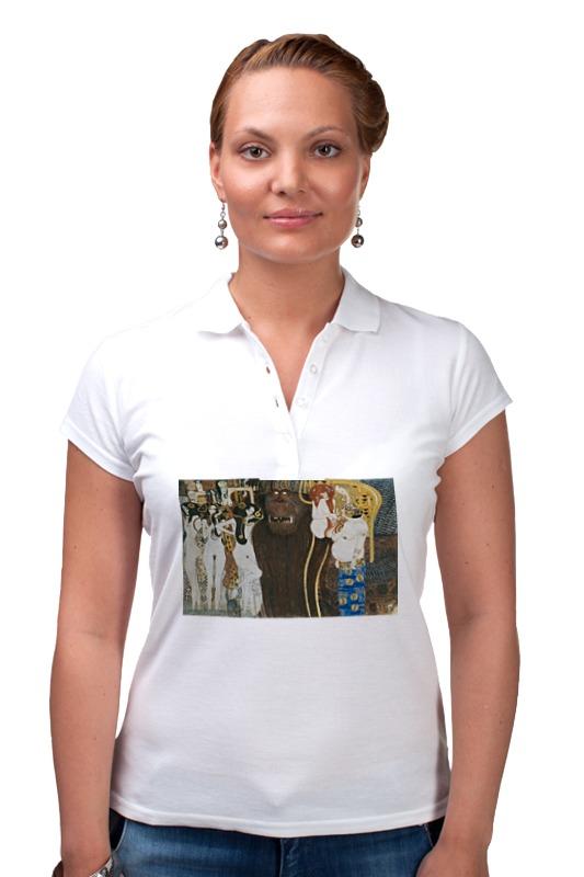 Рубашка Поло Printio Враждебные силы (густав климт) кружка printio враждебные силы густав климт