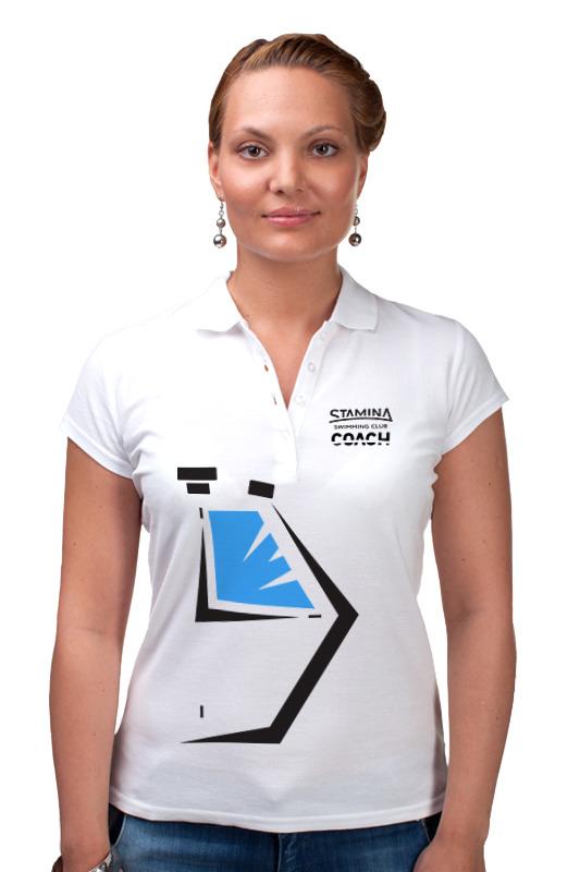 Рубашка Поло Printio Stamina polo white coach