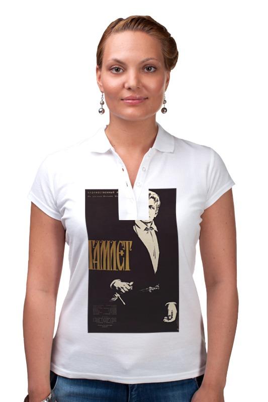 Рубашка Поло Printio Афиша к фильму гамлет, 1964 г. футболка классическая printio афиша к фильму добро пожаловать 1964 г