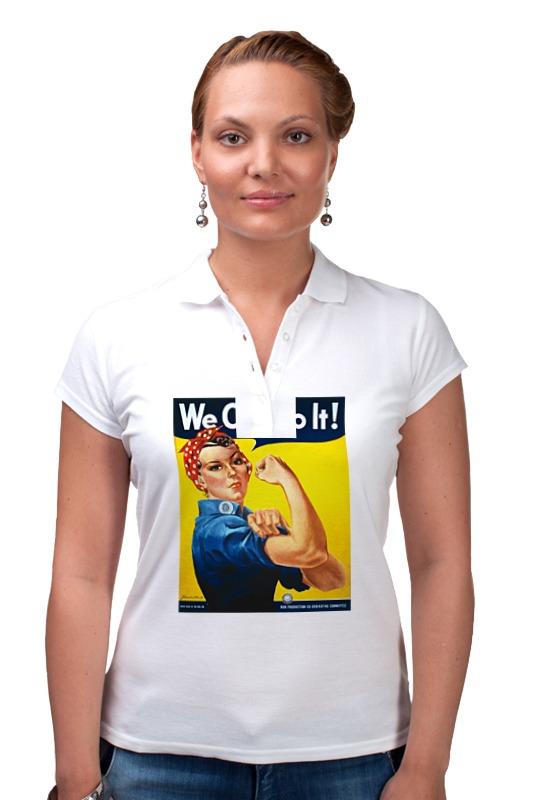 Рубашка Поло Printio Американский плакат, 1943 г.