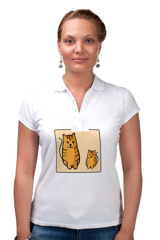 Рубашка Поло Printio Два , смотрящие друг на друга