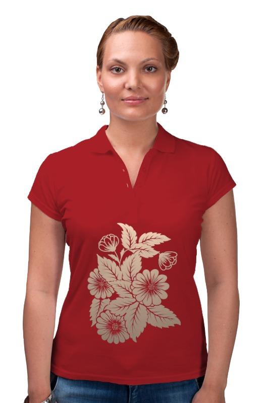 Рубашка Поло Printio Цветок винтаж турецких раунда цветок брошь pin для женщин смолы старинного золотого цвета корсаж королевский горный хрусталь драгоценност