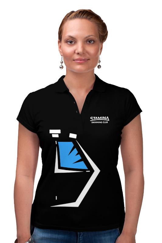 Рубашка Поло Printio Stamina polo black