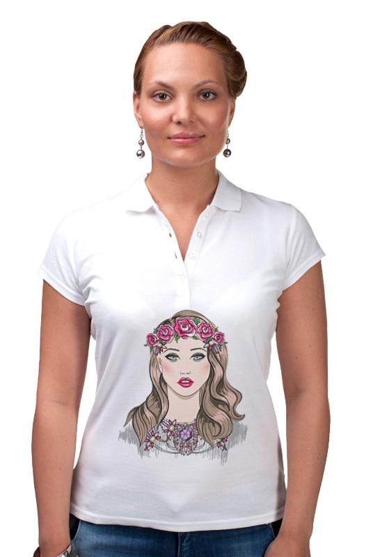 Рубашка Поло Printio Портрет молодой девушки блокнот printio портрет девушки