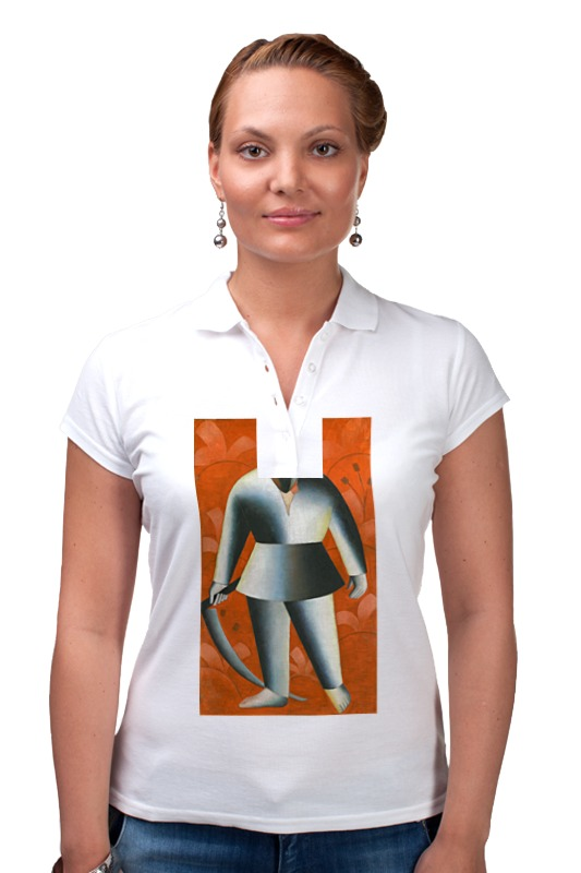 Рубашка Поло Printio Косарь (казимир малевич) набор косца косарь м 39828 6