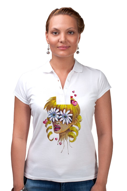 Рубашка Поло Printio Без ума от цветов дэйви о без ума от обезьян