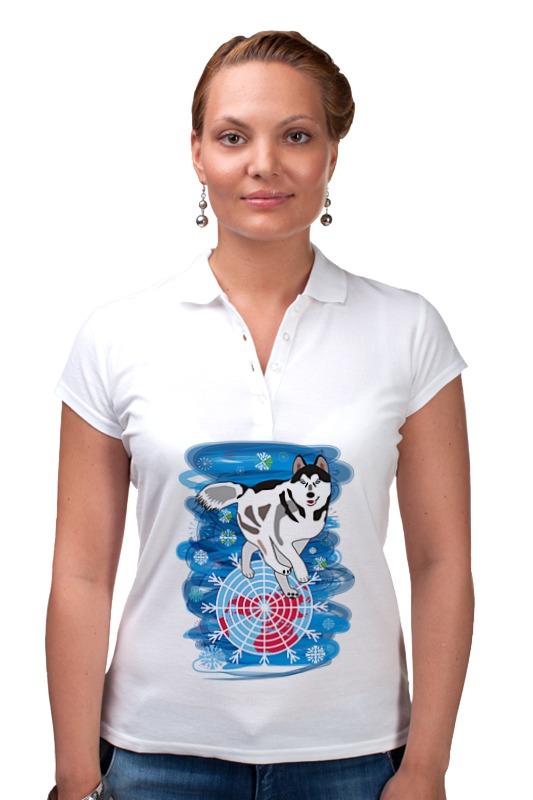 Рубашка Поло Printio Бегущая по снегам бегущая строка светодиодная дешево